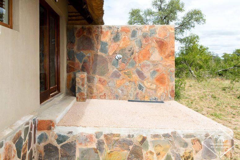 Douche externe, Arathusa Safari Lodge