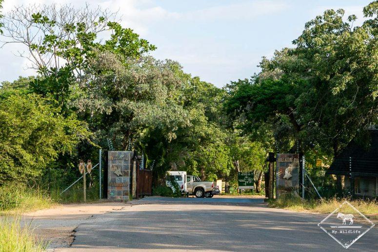 Entrée Pretoriuskop restcamp
