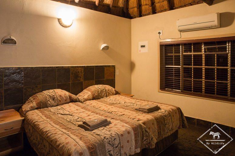 Chambre d'un cottage du Punda Maria Restcamp