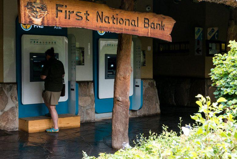 Banque Skukuza restcamp