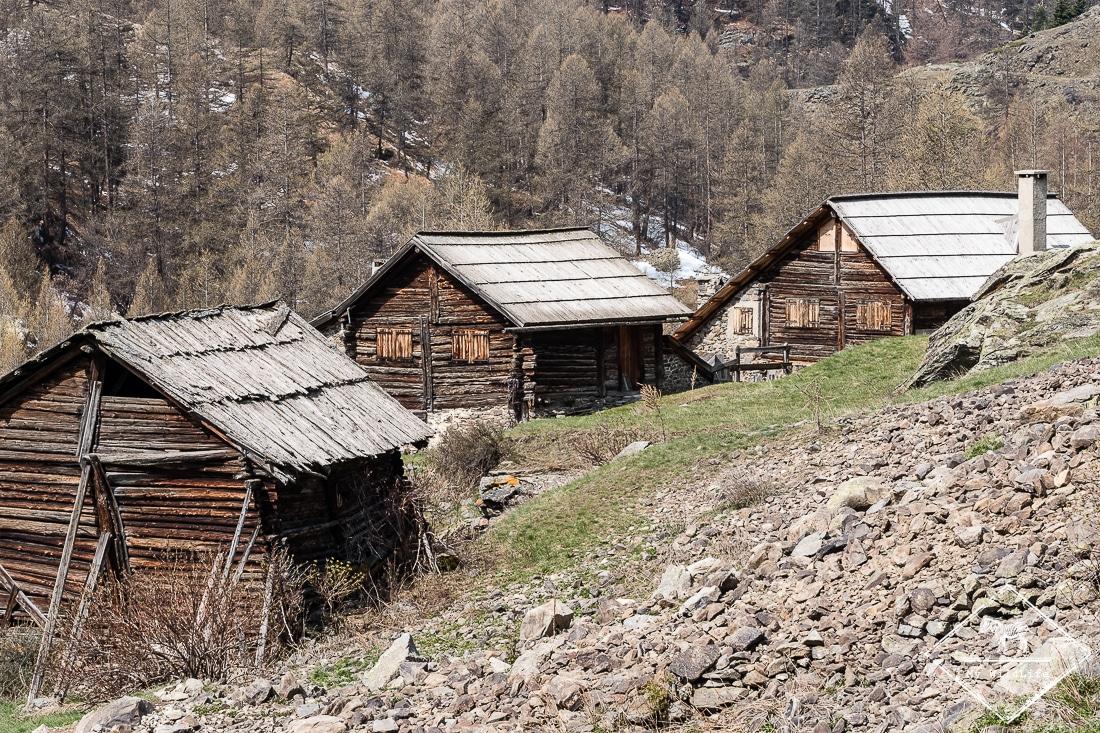 Chalet traditionnelle vallée de la Clarée