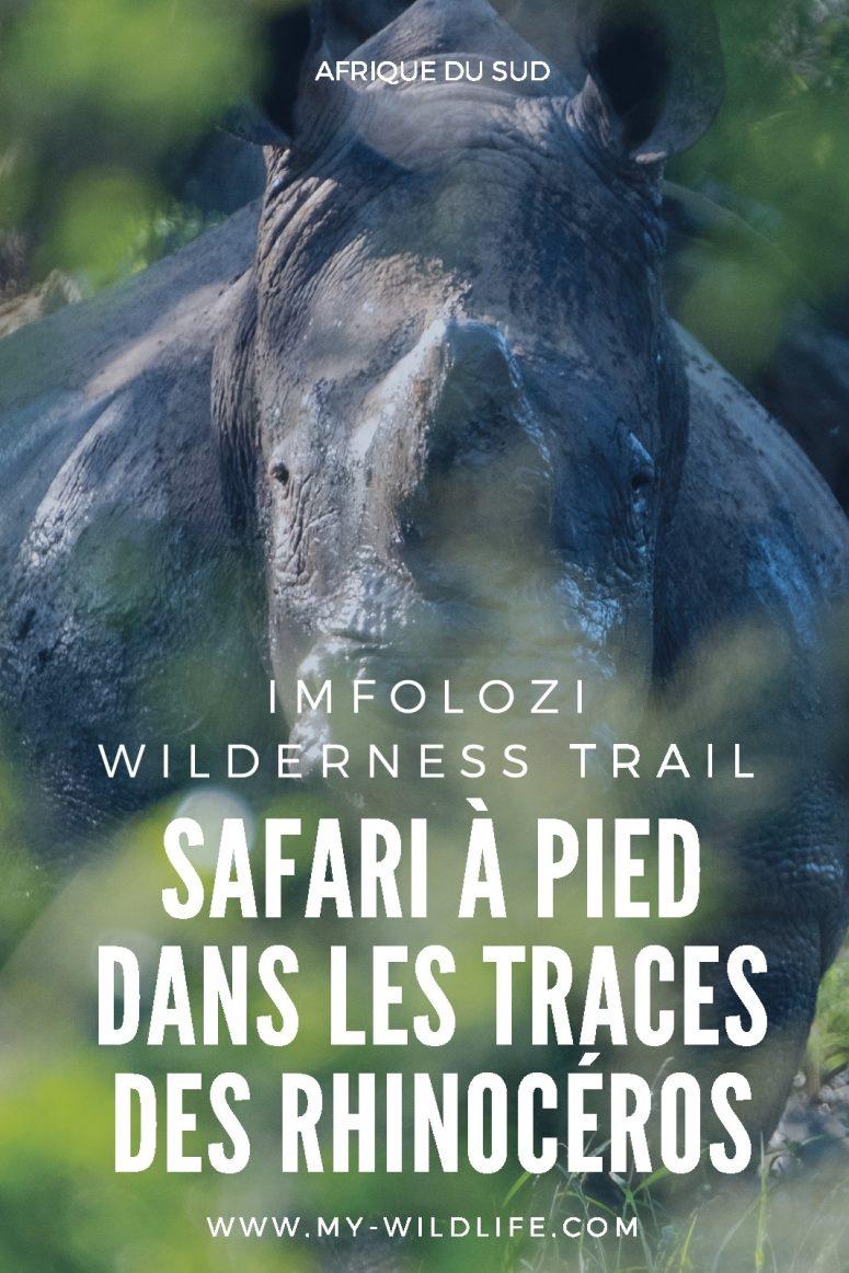 Imfolozi wilderness Trail