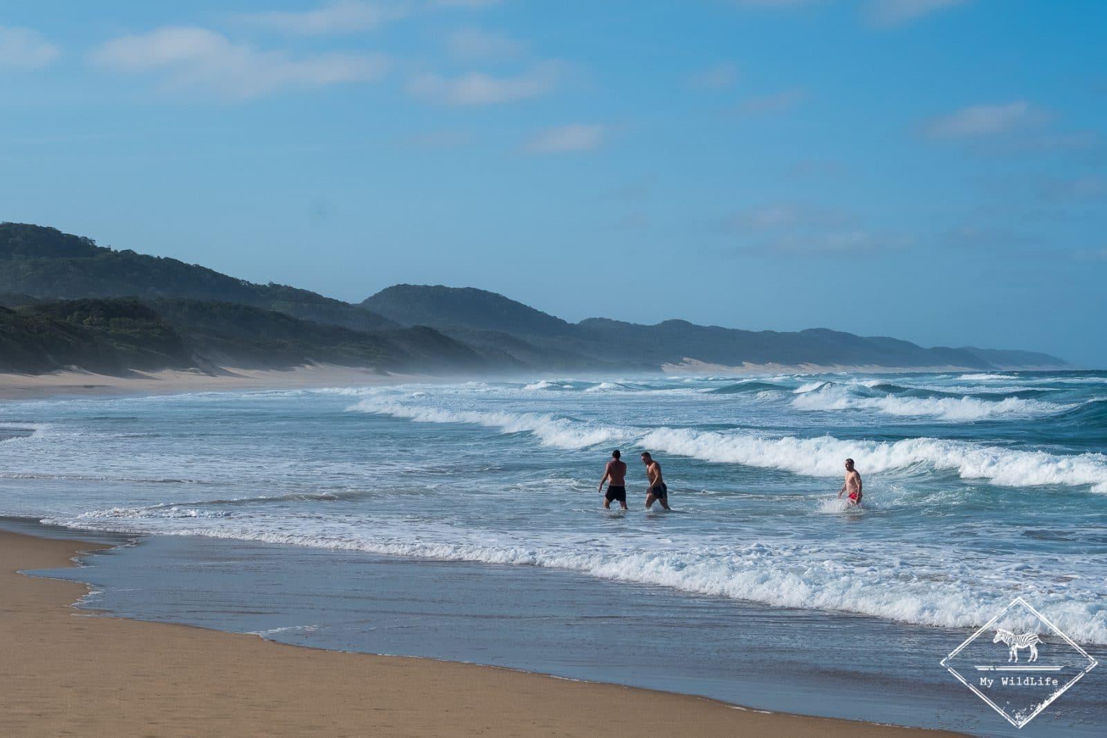 Plage de Cape Vidal, parc national Isimangaliso