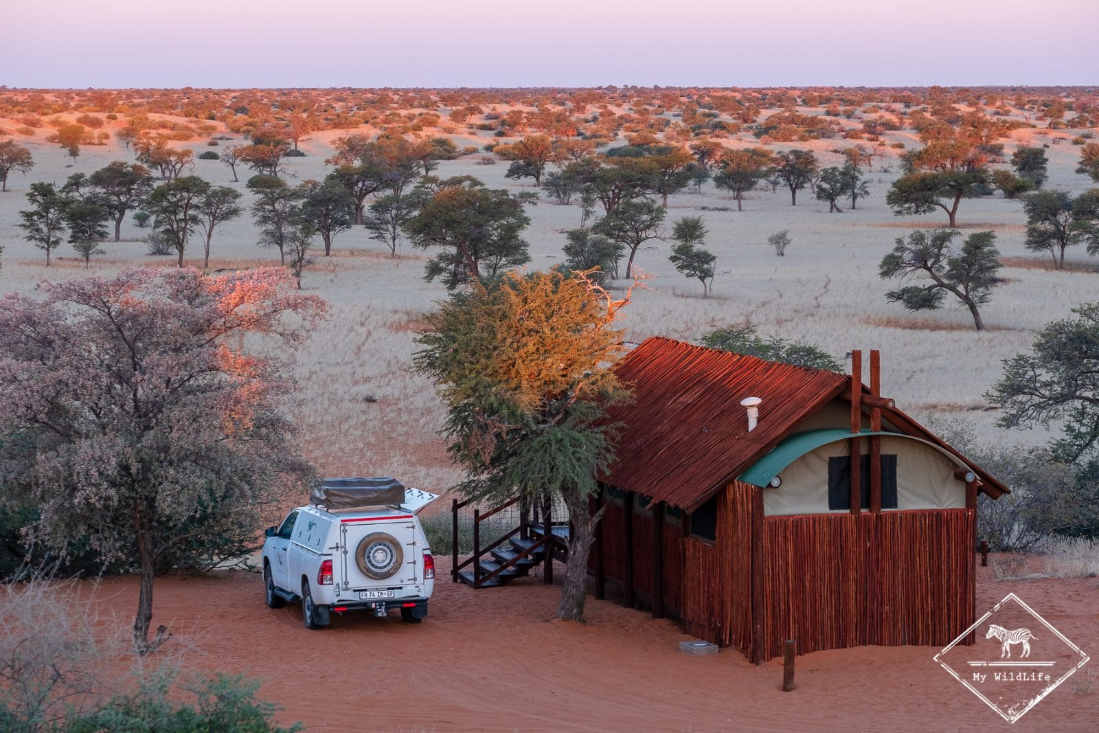 Gharagab wilderness camp, parc national Kgalagadi