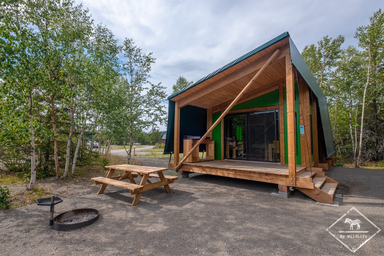 Prêt à camper, Parc national du Bic