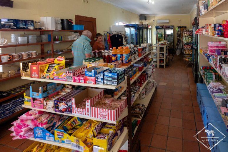 Shop du Nossob camp