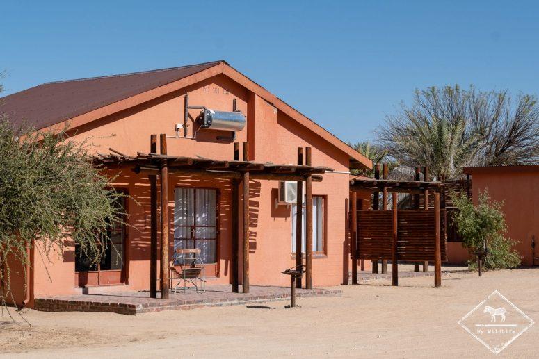 Cottage du Nossob camp