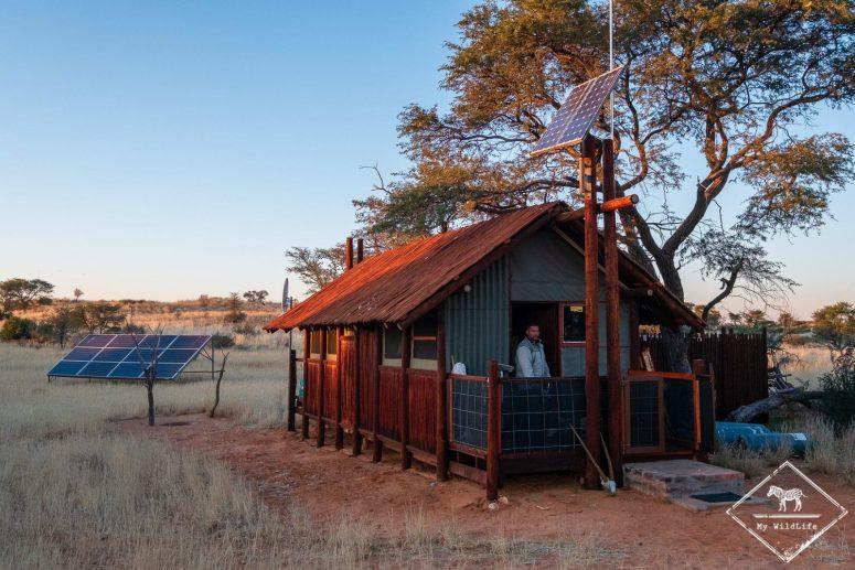 Cottage du gardien du Bitterpan Wilderness camp