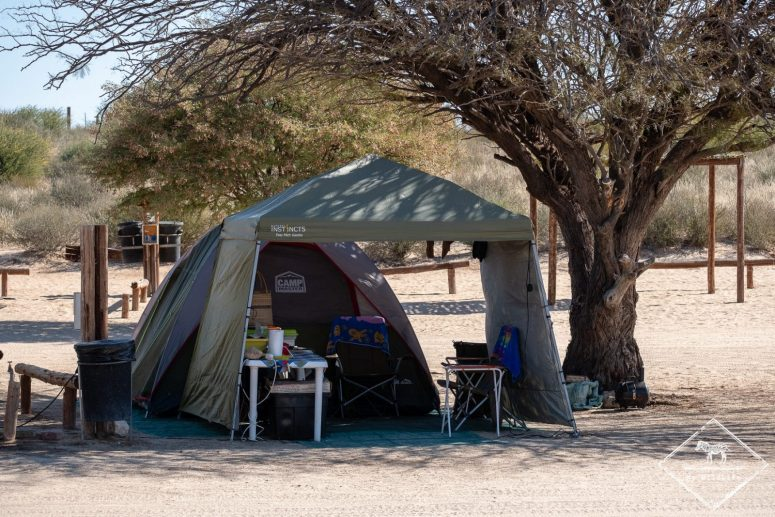 Camping du Nossob camp