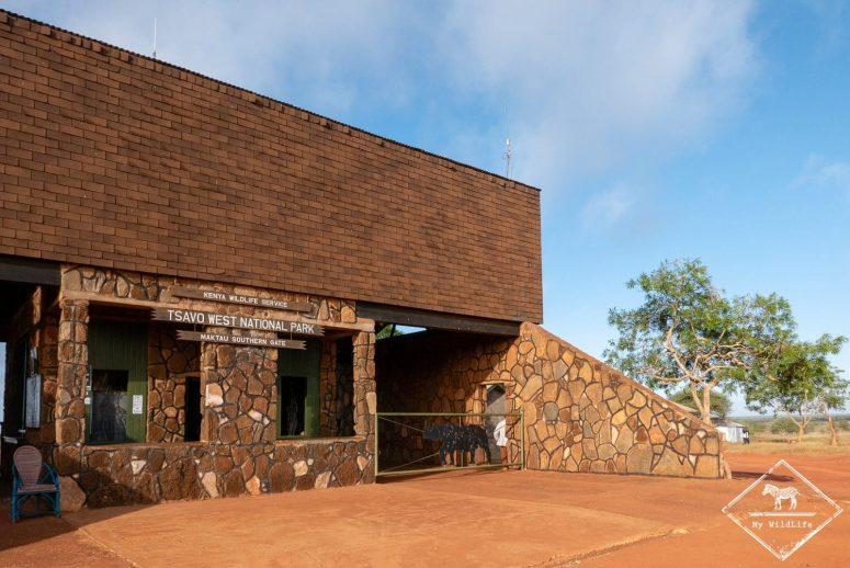 Maktau gate, Tsavo Ouest