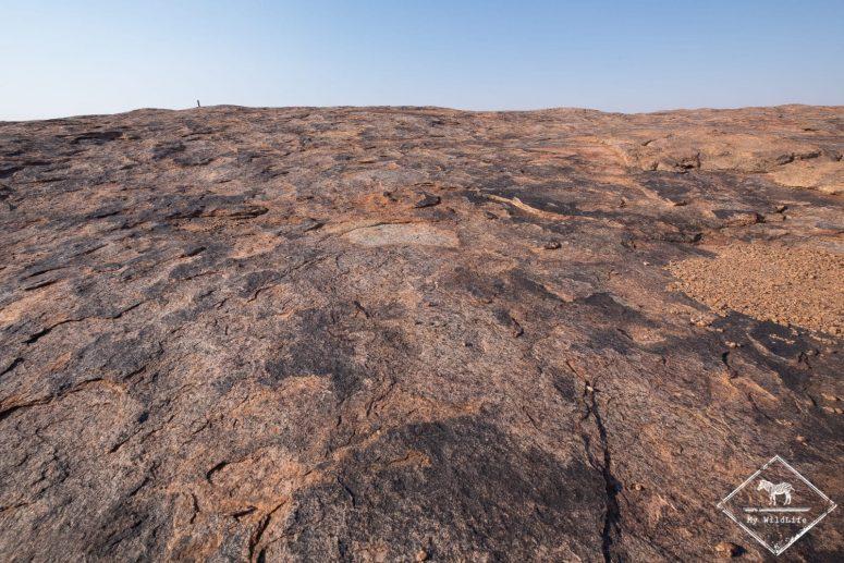 Moon rock, parc national des Chutes d'Augrabies