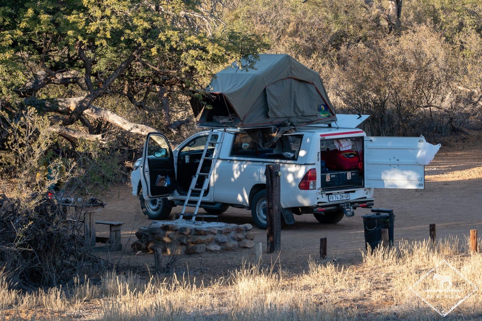 camping de la Witsand Nature Reserve