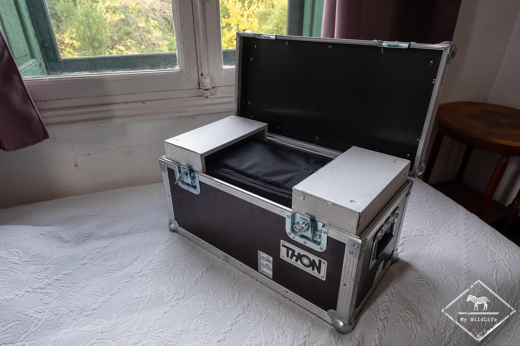 Caisson du Sigma 500 mm F4 loué chez Pixloc