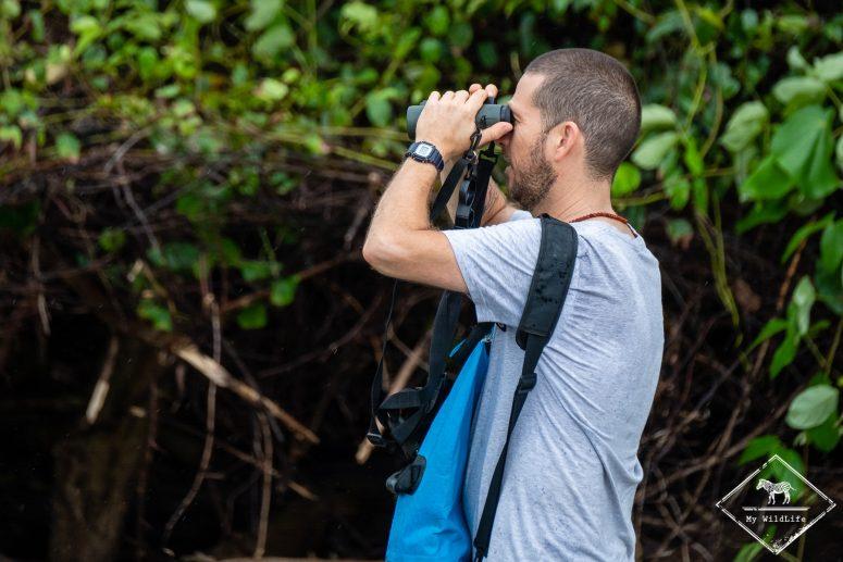 Observation des oiseaux, parc national Marino Ballena
