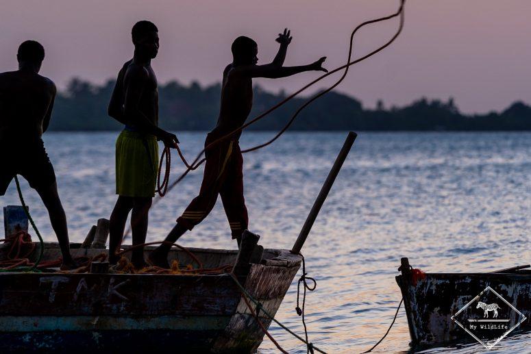 Pêcheurs, Zanzibar