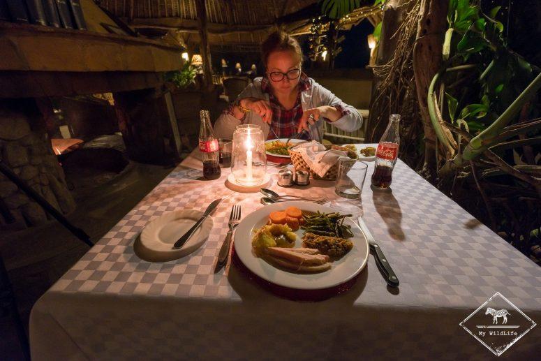 Restaurant du Lions Bluff Lodge