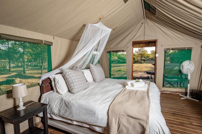 Camp de toile Afrique du Sud
