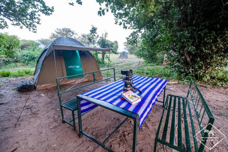 Camping, parc national Tarangire