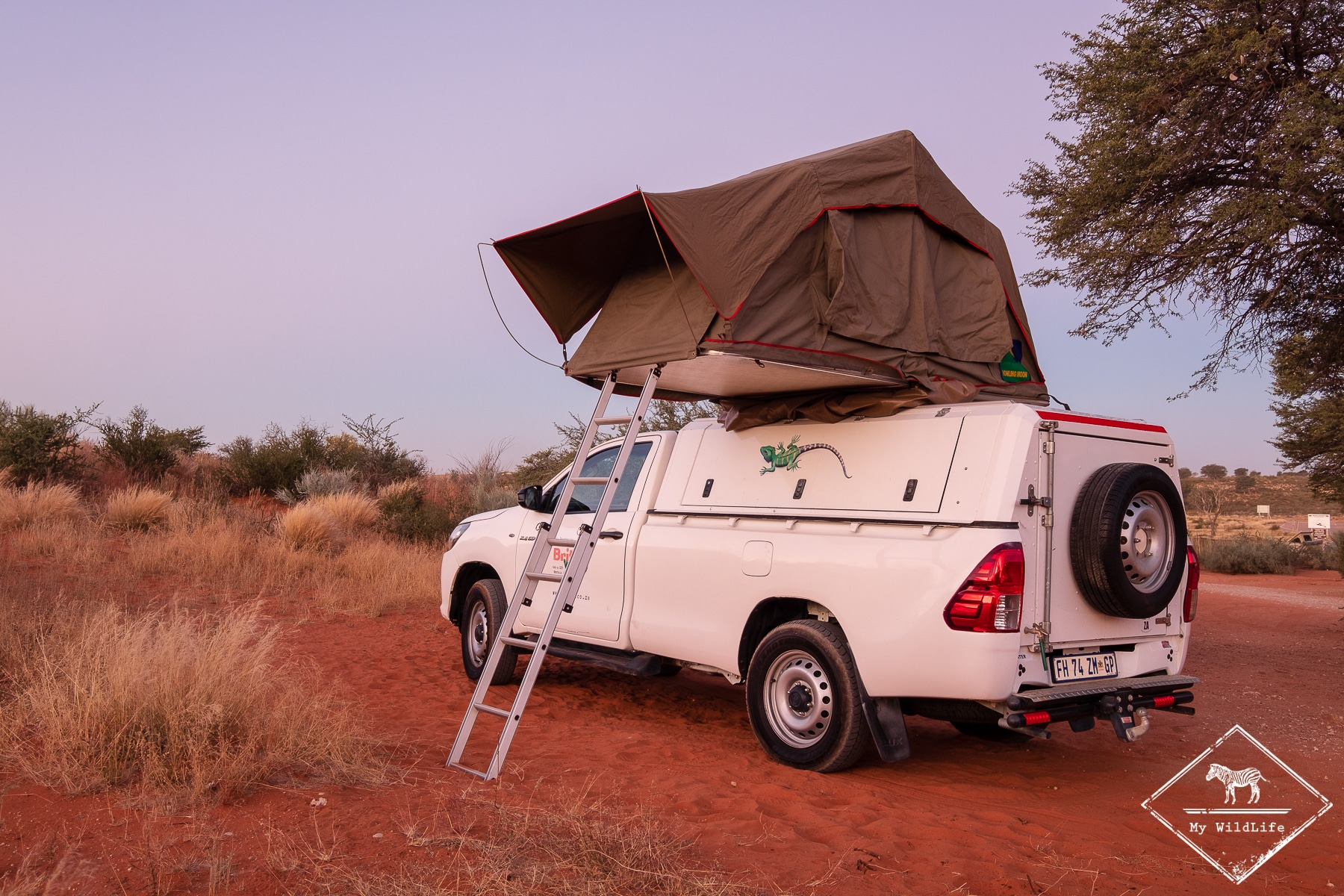 4x4 équipé pour le camping
