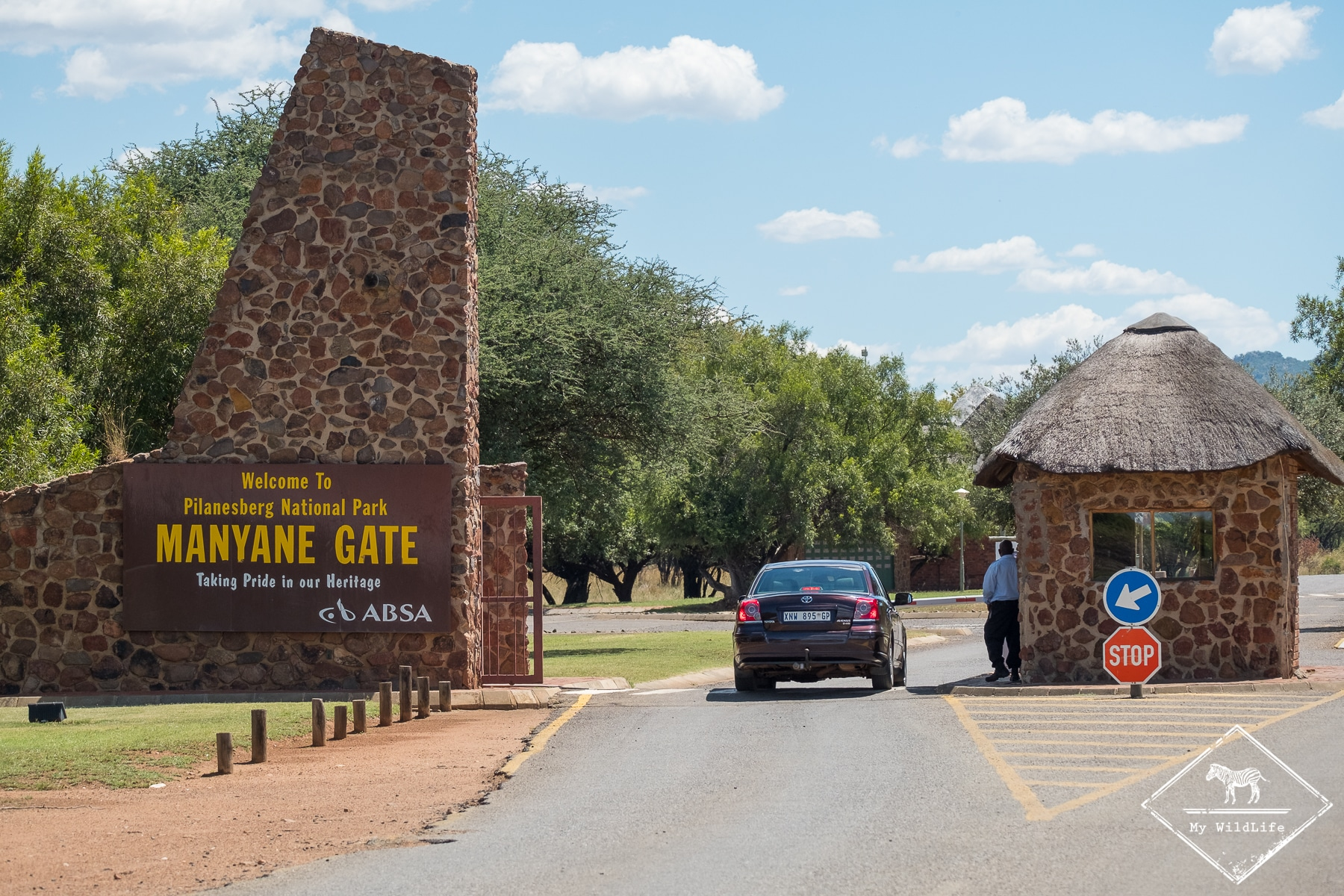 Manyane Gate, parc national Pilanesberg