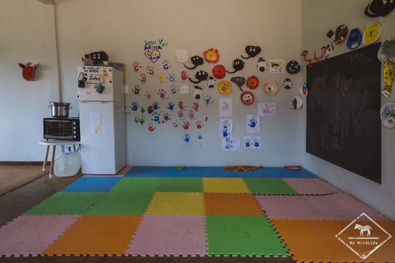 Salle de jeux pour enfants du Simbavati River Lodge
