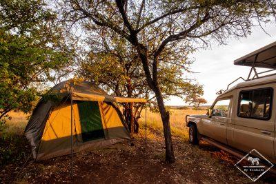 Mbalageti special campsite