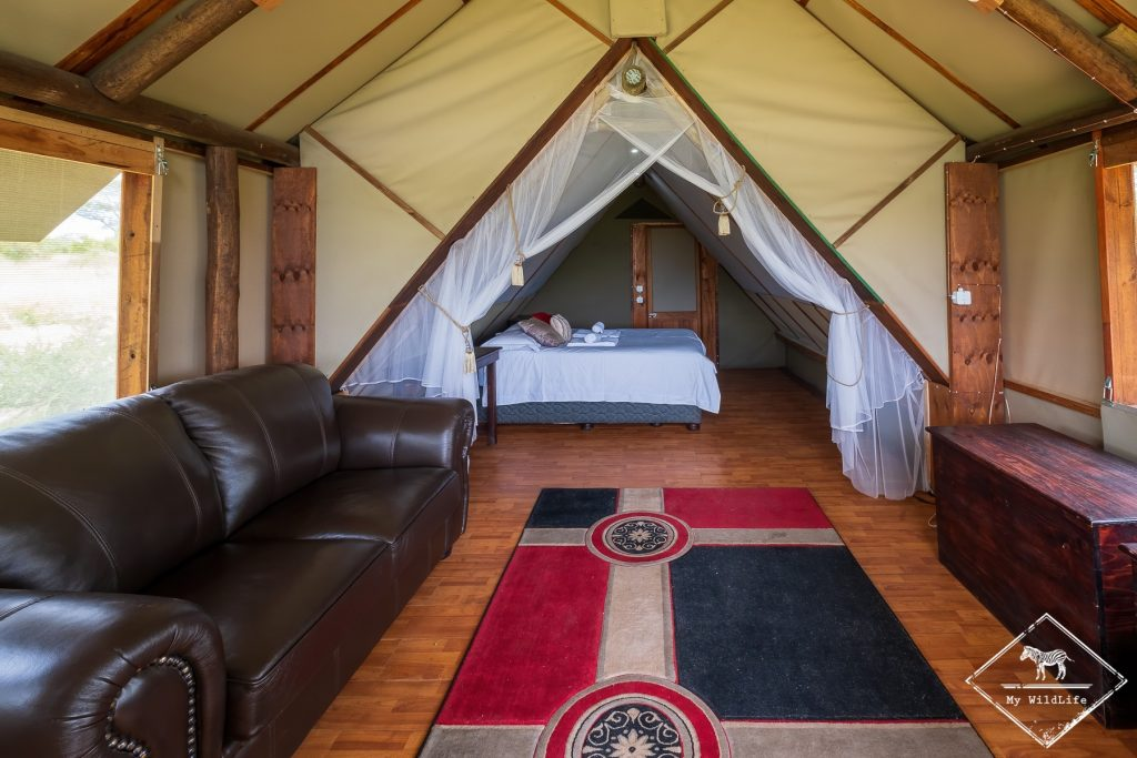 Chambre du Buffelshoek Tented Camp