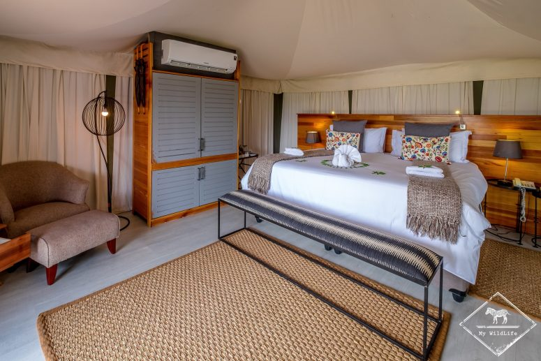Chambre du Simbavati Hilltop Lodge