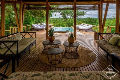 Piscine du Simbavati Hilltop Lodge