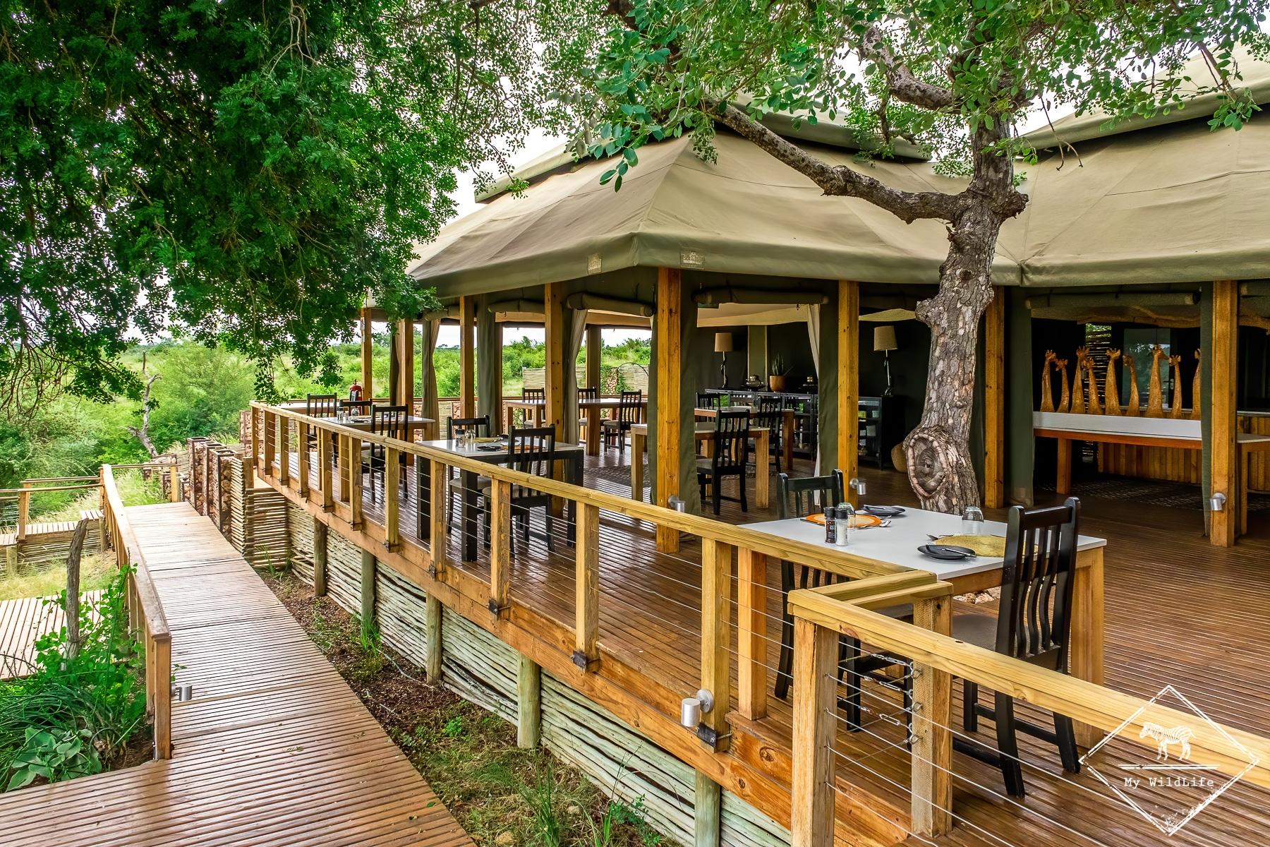 Restaurant du Simbavati Hilltop Lodge