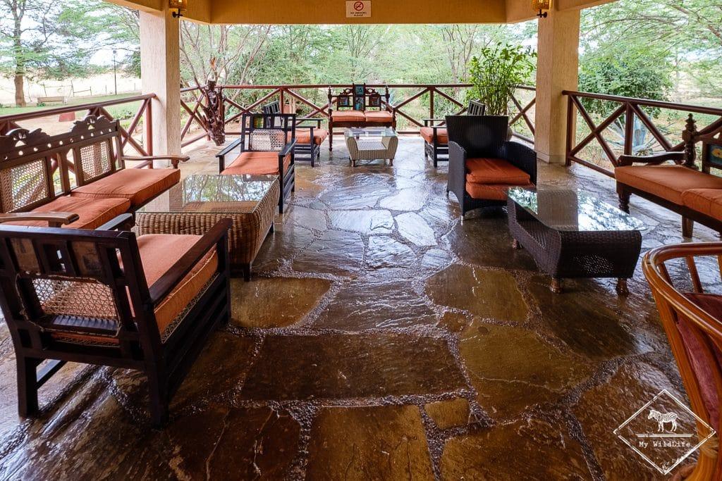 Salon de l'Ashnil Aruba Lodge