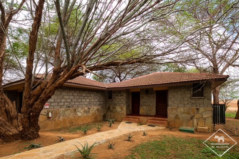 Vue extérieure des chambres de l'Ashnil Aruba Lodge