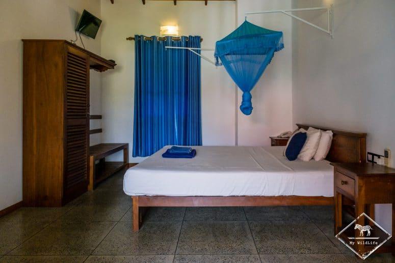 chambre, Blue Turtle Hotel, Tissamaharama