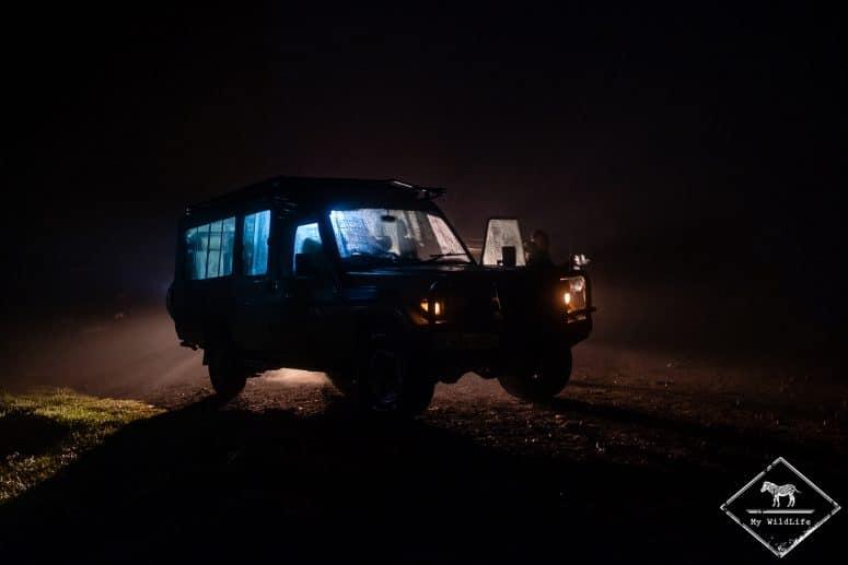 5h30, départ en safari