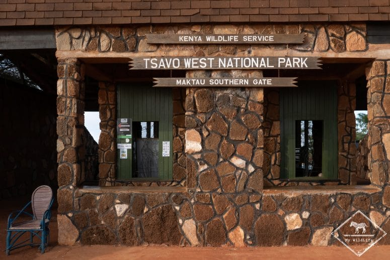 Maktau gate, parc national Tsavo Ouest