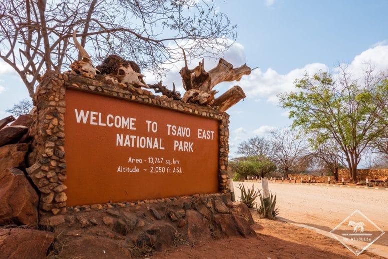 Voi gate, parc national Tsavo Est