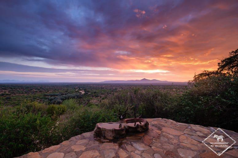 Lever de soleil Il Ngwesi Eco lodge