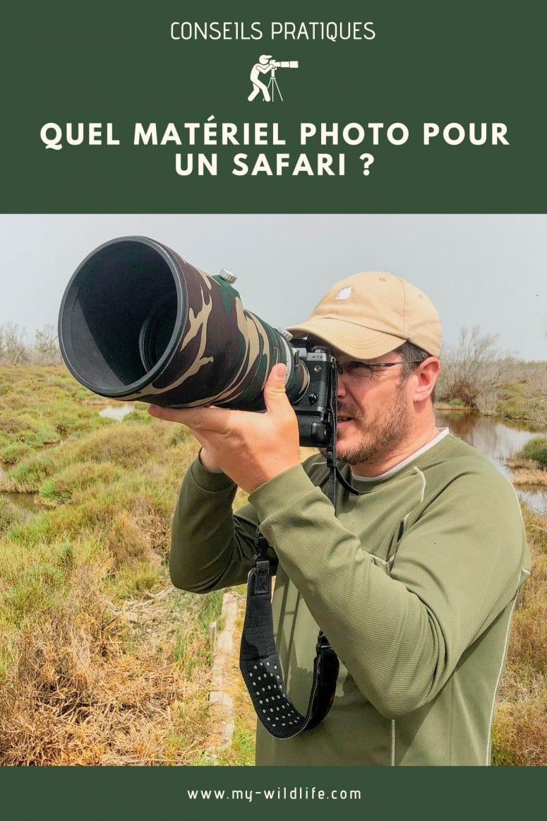 Quelle taille de capteur pour un safari ?