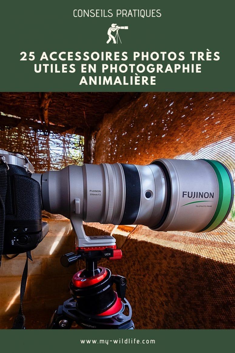 25 accessoires photos très utiles en photographie animalière