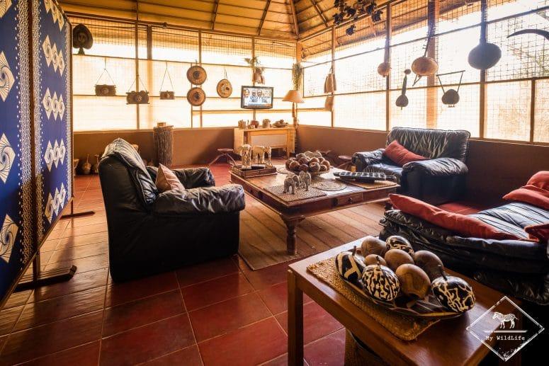 Salon de l'Ikweta Safari Camp