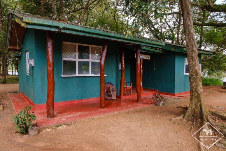 Porte d'Henanigala, parc national Maduru Oya