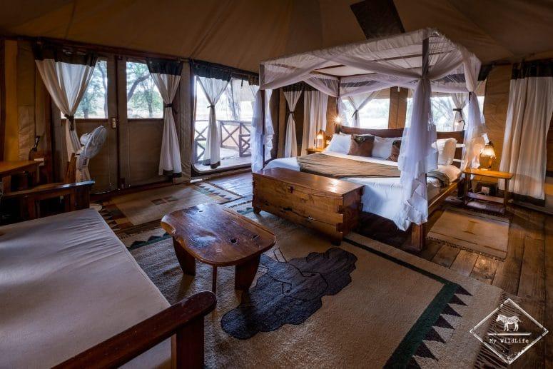 Chambre de l'Elephant Bedroom Camp, Samburu