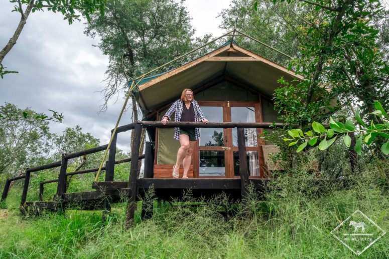 NdzhakaTented Camp, réserve de Manyeleti