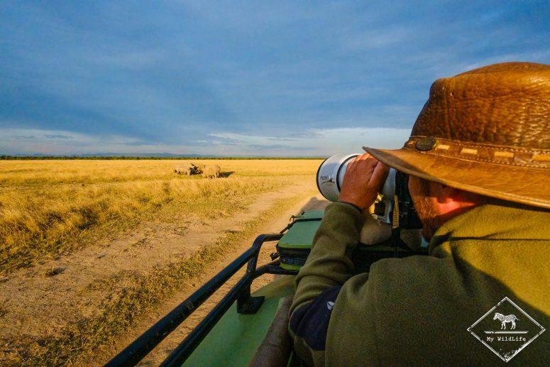 Safari à Ol Pejeta Conservancy